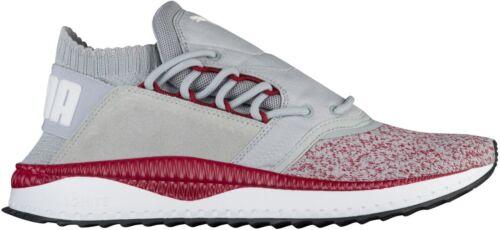 Puma Men/'s TSUGI SHINSEI NOCTURNAL Running Shoes Quarry//Tibetan Red 363760-02 b