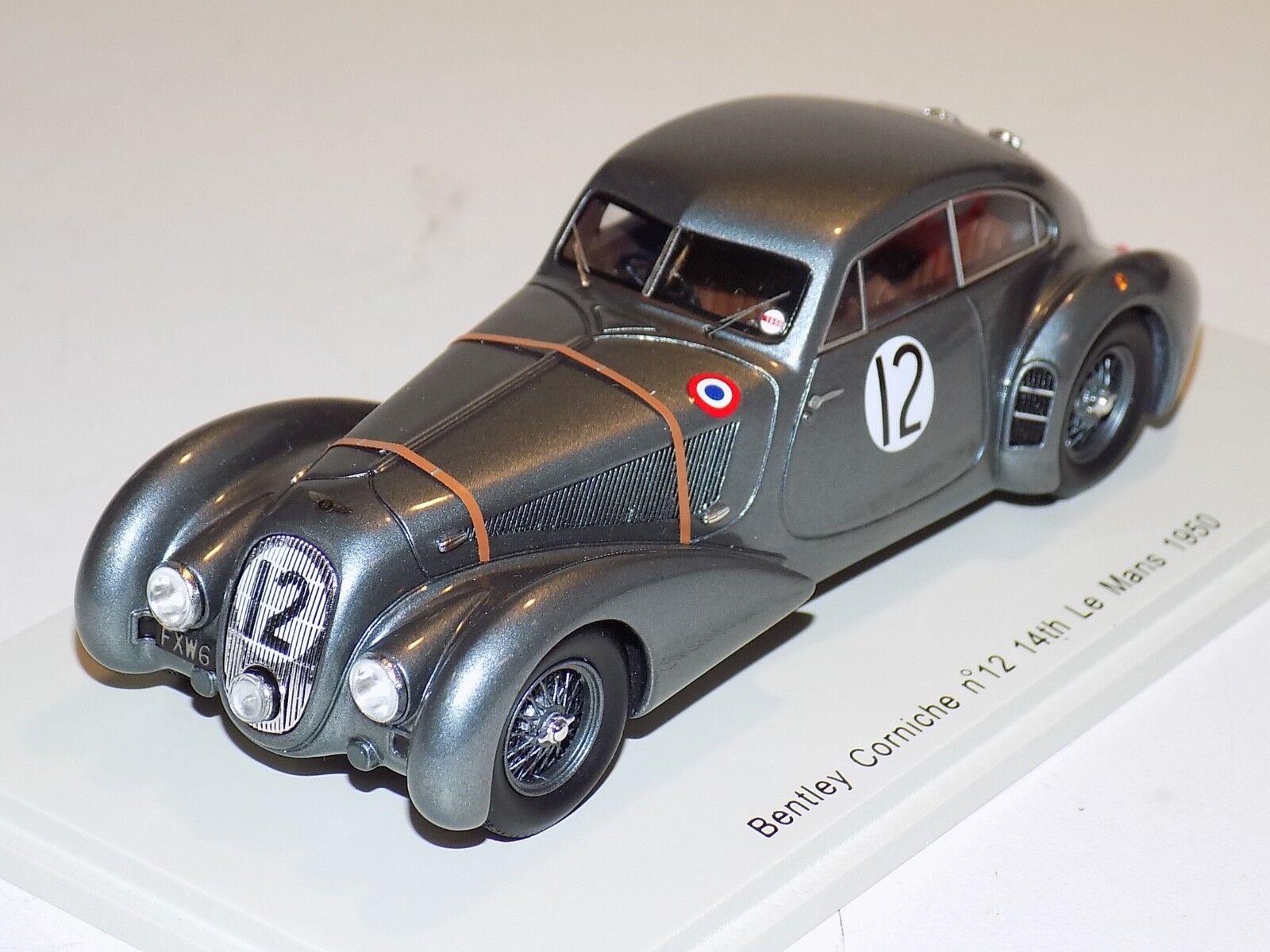 1 43 Spark Bentley Corniche Paulin voiture  12 14th de 1949 24 H LeMans S3818