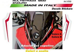 Adesivi-per-cupolino-plexi-Ducati-Multistrada-1200-Enduro