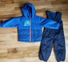 7e1472703 Columbia Girls 4t Twisty Cliffs Reversible 2pc Snow Bibs Snowsuit ...
