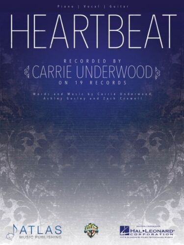 Heartbeat Sheet Music Piano Vocal Book Carrie Underwood NEW 000159318