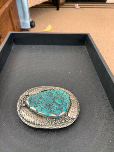 Turquoise Men's Belt Buckle
