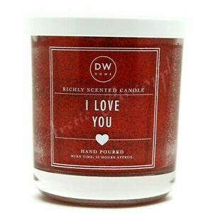 DW-Home-Medium-Single-Wick-9-3-oz-Glitter-Candle-33-Hour-Burn-Time-I-Love-You