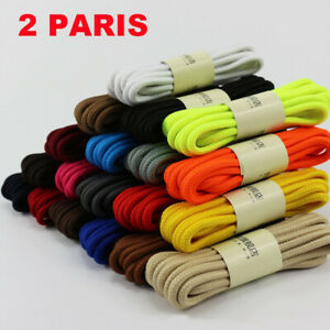 Round-Shoelaces-Shoe-Laces-Shoetrings-Ropes-Martin-Boots-Unisex-Sport-Strings