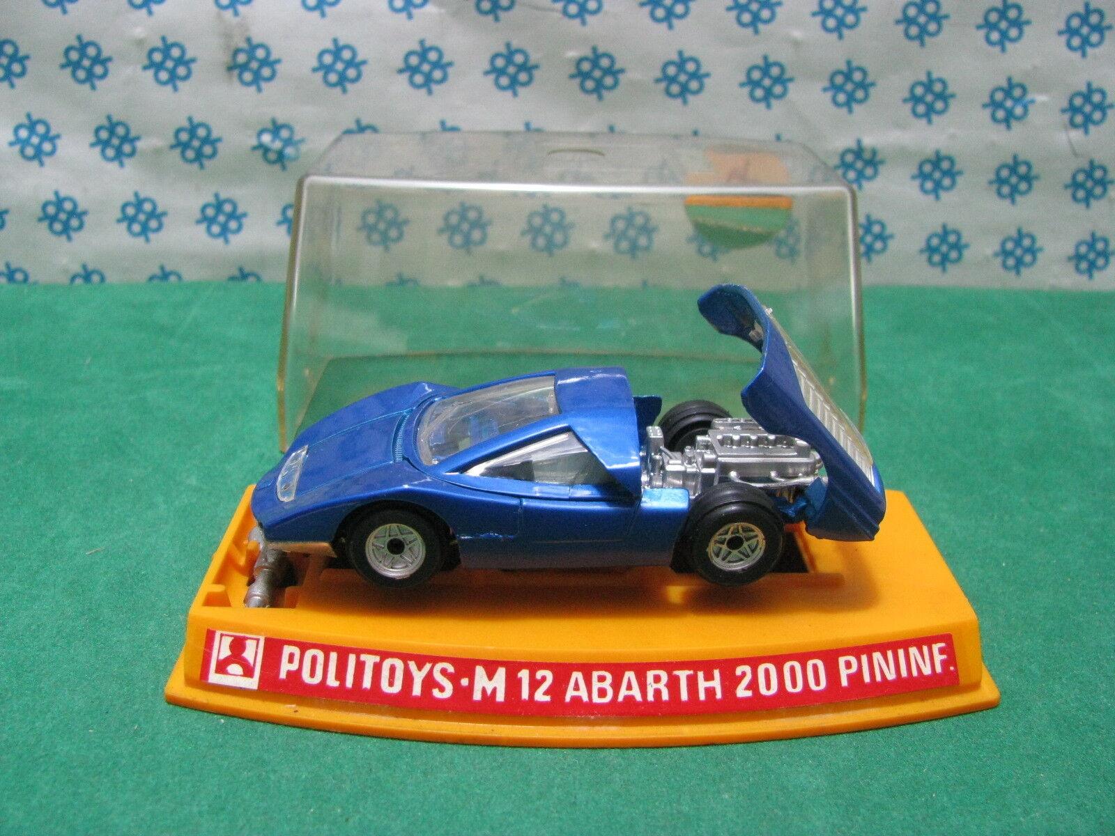 Politoys-M 12-abarth 2000 Pininfarina - 1 43 NEW MINT