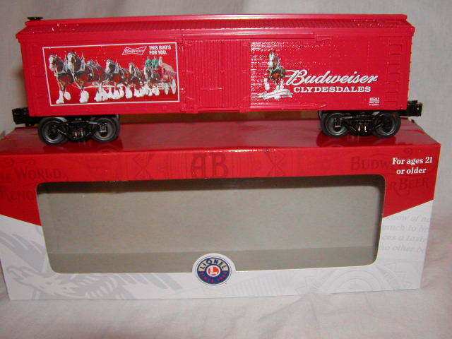 Lionel 6-85247 ab Budweiser Clydesdales Woodside hierba o 027 Menta en caja 2018 Nuevo