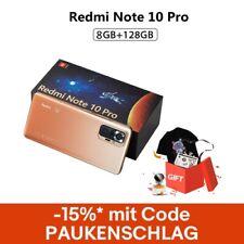 "Xiaomi Redmi Note 10 Pro 8GB 128GB Handy 6,67"" 120Hz 108MP Smartphone EU Version"