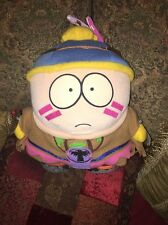 "10"" South Park Indian Cheif Cartman Plush Doll With Tags 1998"