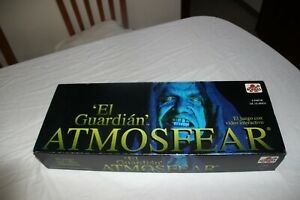 JUEGO DE MESA BORRAS EL GUARDIAN ATMOSFEAR Edicion 1992 con video interactivo