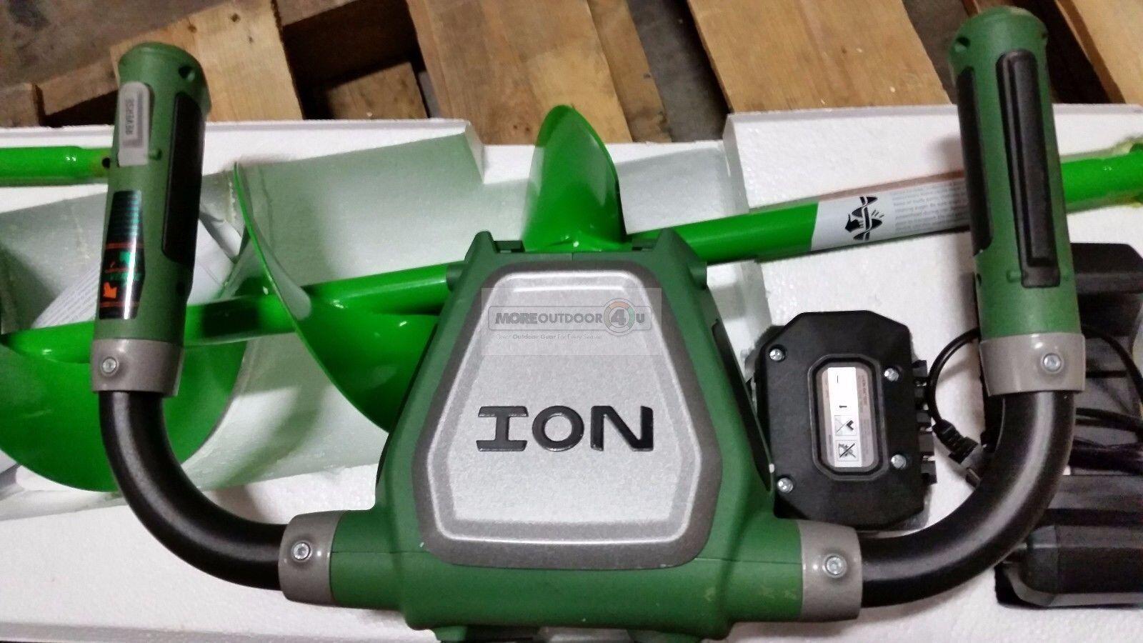Ion 29250 X inversa de 8 pulgadas alimentado por batería hielo barrenas reformado