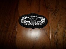"U.S MILITARY ARMY AIRBORNE JUMP WINGS EMBROIDERED PATCH 4"" X 2"""