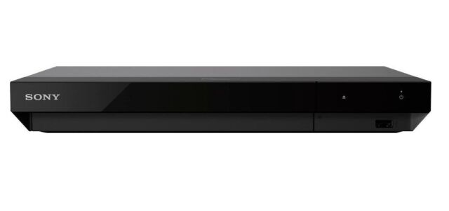 Sony UBP-X700 Streaming 4K Ultra HD Hi-Res Audio Wi-Fi Built-In Blu-Ray Player,