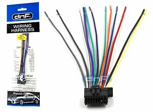 pioneer deh p5200hd deh p6200bt dxt 2266ub wiring harness ships rh ebay com pioneer wire harness diagram pioneer wire harness for deh-x6900bt