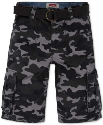Levi's Boys' Ripstop Camo Cargo Shorts