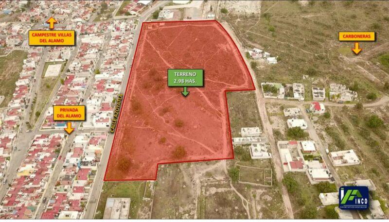 # Terreno de 3 hectáreas detrás del la UAEH (Universidad Autónoma del Estado de Hidalgo)
