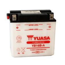 BATTERIE YUASA YB16B-A 12V/16AH Suzuki VS750 Intruder Von 1986 Al 1991
