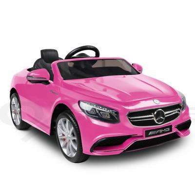 Kids Ride-On Car Licensed Mercedes-Benz AMG S63 Children Electric Toy 12V Remote