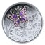 2017-CANADA-BEJEWELLED-BUGS-BUTTERFLY-1-OZ-PURE-SILVER-COIN miniature 1