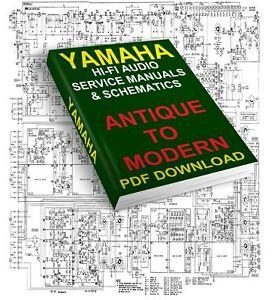 Détails Sur Yamaha Service Manuals Schematics Antique To Modern Download