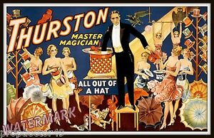 Wall-Art-Magician-Thurston-1910-Magic-Poster-11x17
