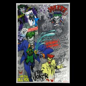 2019 BATMAN Villains THE JOKER 5g Silver Coin Note