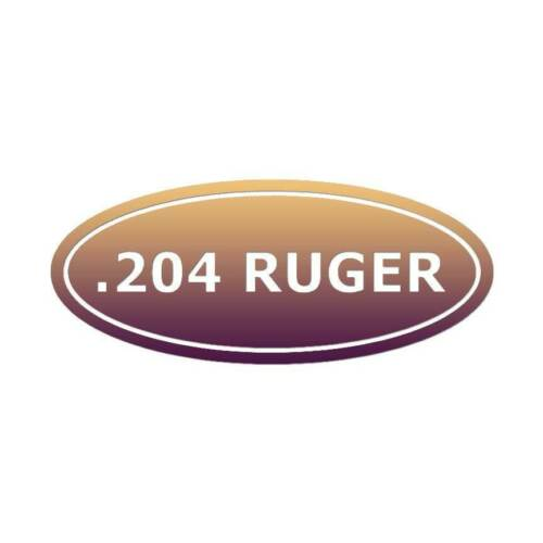 ebn30 Vinyl Decal Sticker Ammo .204 Ruger Multiple Patterns /& Sizes