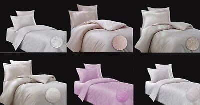Bettwäsche Bettgarnitur Mako-satin Baumwolle Mit Muster 135x200 155x220 Kenntnisreich 3 Tlg Bettwaren, -wäsche & Matratzen Bettwäsche