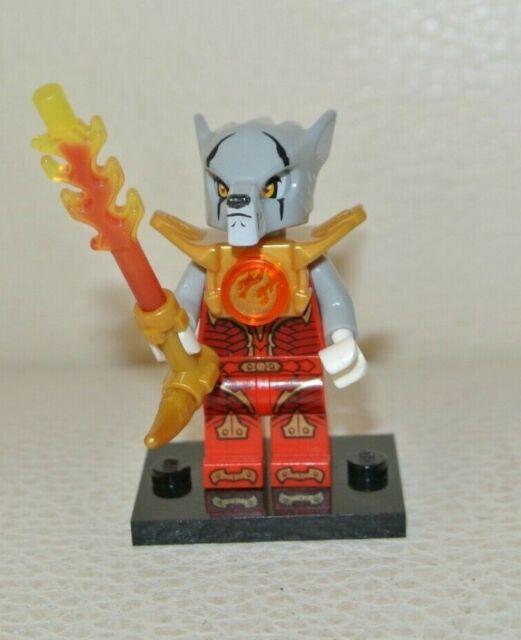 New Genuine LEGO Worriz Wolf Minifig Legends of Chima 70145 70147