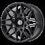 Ford-Mustang-GT500-Style-Wheel-18x9-30-Satin-Black-5x114-3-5x4-5-QTY-1 thumbnail 1