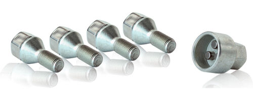 Vauxhall Signum 2002-2008 wheel locking bolts /& nuts 12x1,5 anti-theft alloy