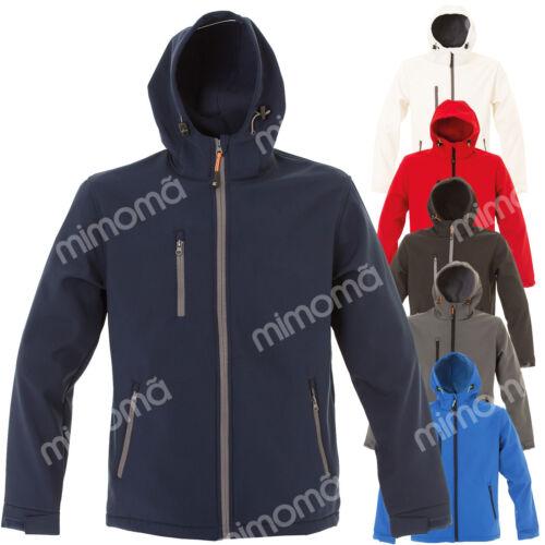 GIACCA CAPPUCCIO SOFT SHELL IMPERMEABILE JRC INNSBRUCK      giacchetto giubbino