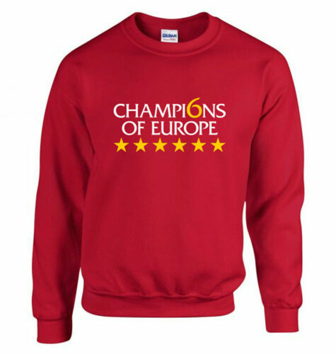 Liverpool FC Champions Of Europe Sweatshirt LFC Jumper