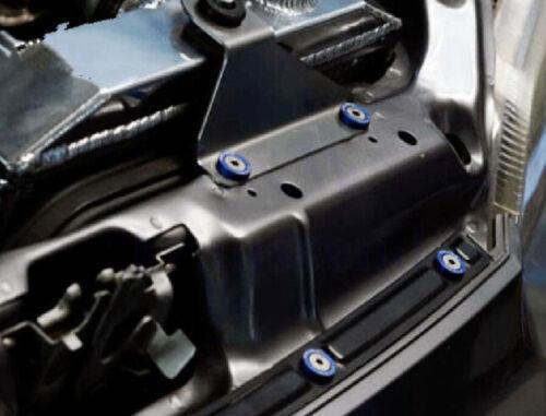 20pcs Green Billet Aluminum Fender Bumper Washer Engine Bay Dress Up Kit