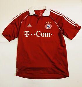 Adidas-Bayern-Monaco-Maglia-Calcio-Podolsky-11-Taglia-L-Anni-2000