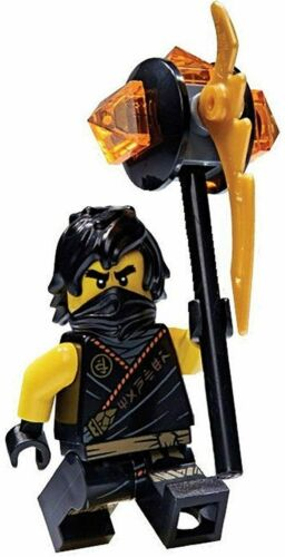LEGO Ninjago Minifigure Cole Sleeveless Rebooted Legacy From Set 112005