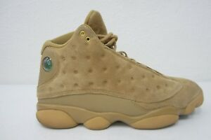 more photos c9369 64231 Details about VERY NICE AIR JORDAN 13 RETRO XIII WHEAT SZ MENS 10 KHAKI  GOLD BROWN 414571-705