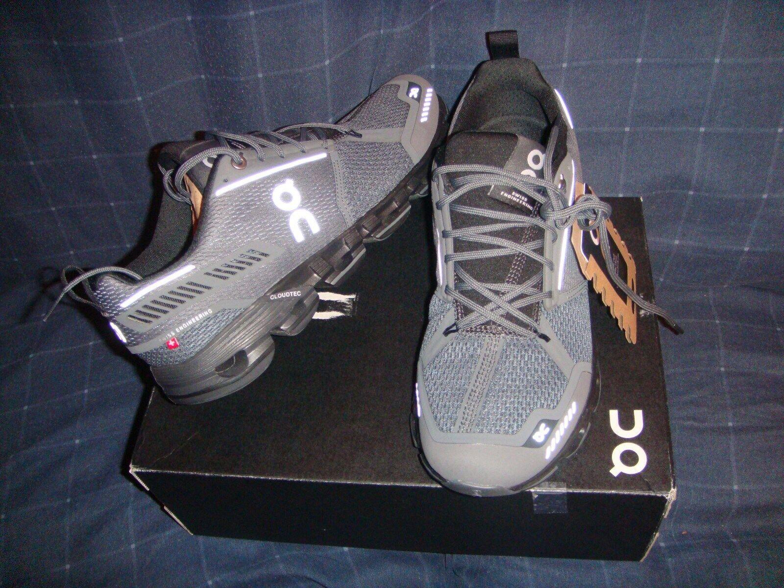 En cloudflyer Hombres Zapatos tenis Negro Rock 12.5US Nuevo En Caja