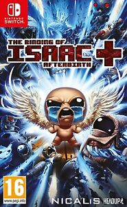 The-Bords-de-Isaac-Afterbirth-nintendo-Switch-Neuf-Scelle