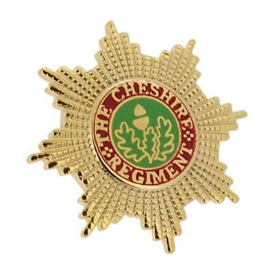 Cheshire Regiment 2 Lapel Pin