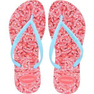 ca999d1548699 Havaianas Slim Rubber Flip Flops Women Romance Coral CF 37-38 BR 39 ...