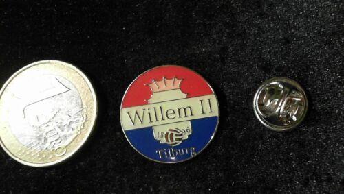 NIEDERLANDE FUßBALL LEAGUE Pin Badge TILBURG WILLEM II 1896 LOGO WAPPEN