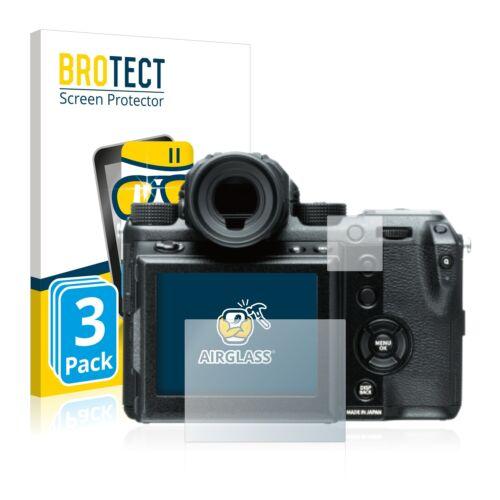 3x protección cristal blindado diapositiva para Fujifilm GFx 50s 9h tanques lámina de protección lámina de vidrio