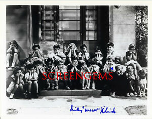 Sidney Kibrick Woim Our Gang Signed Photo Little Rascals Full Cast
