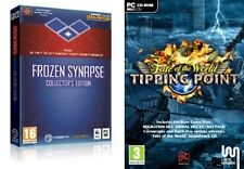 frozen synapse collectors edition & fate of the world tipping point   new&sealed