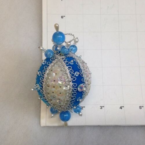 BEADED ORNAMENTS Each ornament priced separately MANY CHOICES Jeweled Embelished