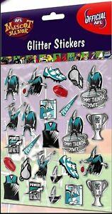 Port-Adelaide-Power-Official-AFL-Team-Logo-Glitter-Stickers