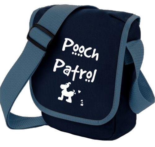 Dog Bag Pooch Patrol with Dog Shoulder Bags Handbag Birthday Gift for Dog Walker
