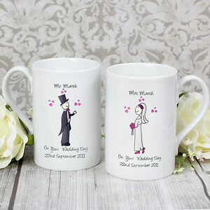 ... FUNKY WEDDING GIFT IDEA, MUG SETUnique & Unusual present eBay