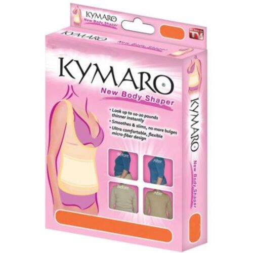 2 pack Seen on Tv Kymaro New Body Shapewear Compression garment Top Only