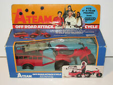 """A-TEAM 6"""" VEHICLE OFF ROAD ATTACK 100% COMPLETE MIB 1980s GALOOB VERY RARE"""